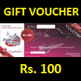 F4F Rs. 100 Voucher (Email Delivery)