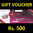 F4F Rs. 500 Voucher (Email Delivery)