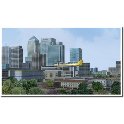 VFR London X and City Airport (FSX only), Flight 4 Fantasy